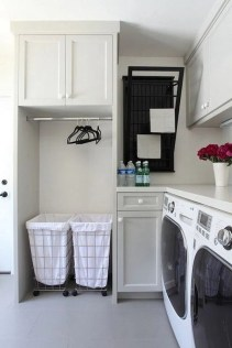 Best Tiny Laundry Spaces Design Ideas That So Functional 14
