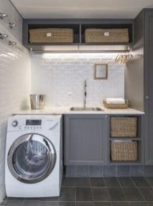 Best Tiny Laundry Spaces Design Ideas That So Functional 30