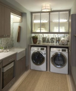 Best Tiny Laundry Spaces Design Ideas That So Functional 38