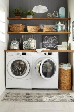 Best Tiny Laundry Spaces Design Ideas That So Functional 42