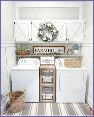 Best Tiny Laundry Spaces Design Ideas That So Functional 45
