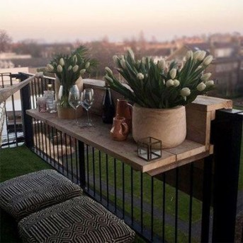 Comfy Balcony Design Ideas To Try Right Now 15