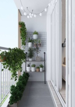 Comfy Balcony Design Ideas To Try Right Now 24