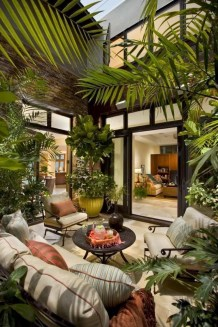 Cool Shady Indoor Garden Design Ideas In Loft Apartment To Try Asap 21