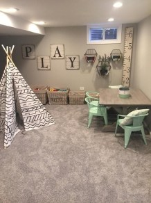 Cozy Basement Renovations Design Ideas For Kids Room That Looks So Awesome 39