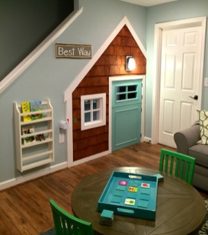 Cozy Basement Renovations Design Ideas For Kids Room That Looks So Awesome 44