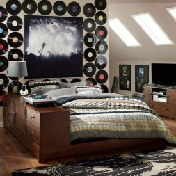 Cozy Bedroom Design Ideas With Music Themed That Everyone Will Like It 01