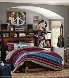 Cozy Bedroom Design Ideas With Music Themed That Everyone Will Like It 05
