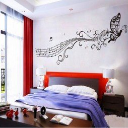 Cozy Bedroom Design Ideas With Music Themed That Everyone Will Like It 17