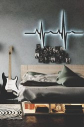 Cozy Bedroom Design Ideas With Music Themed That Everyone Will Like It 18