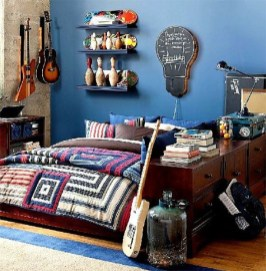 Cozy Bedroom Design Ideas With Music Themed That Everyone Will Like It 24