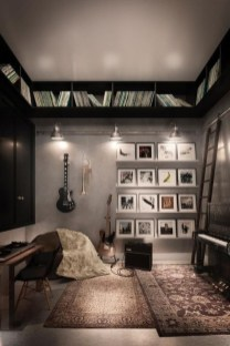 Cozy Bedroom Design Ideas With Music Themed That Everyone Will Like It 35
