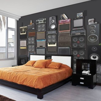 Cozy Bedroom Design Ideas With Music Themed That Everyone Will Like It 39