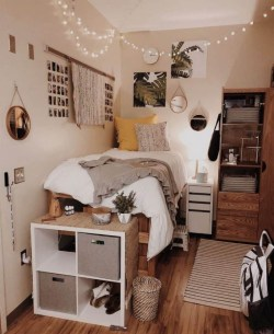 Cozy Dorm Room Design Ideas That Looks More Awesome 11