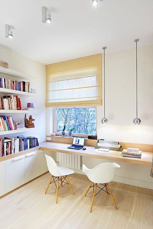 Delicate Two Seat Workspace Design Ideas To Try Right Now 01