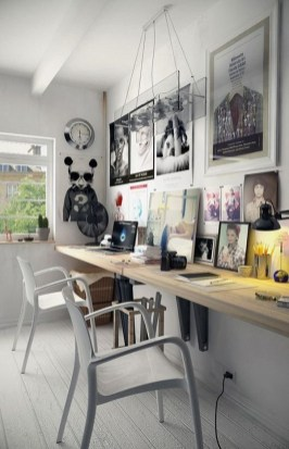 Delicate Two Seat Workspace Design Ideas To Try Right Now 33