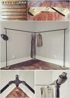 Modern Clothing Racks Design Ideas For Narrow Space To Try Asap 05