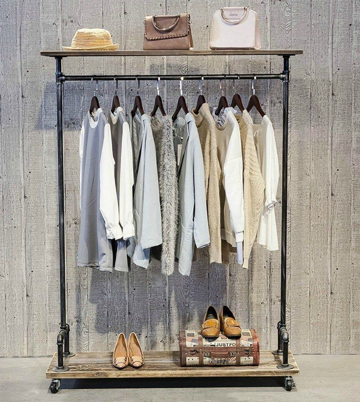 Modern Clothing Racks Design Ideas For Narrow Space To Try Asap 37