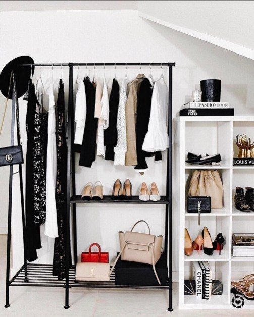 Modern Clothing Racks Design Ideas For Narrow Space To Try Asap 48