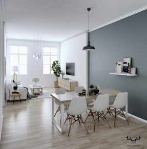 Modern White Apartment Design Ideas To Try Right Now 19