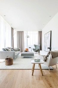 Modern White Apartment Design Ideas To Try Right Now 23