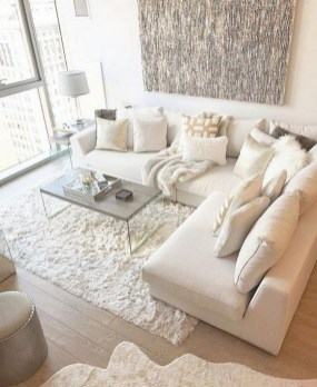 Modern White Apartment Design Ideas To Try Right Now 33