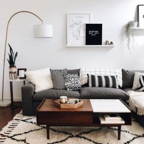 Modern White Apartment Design Ideas To Try Right Now 39