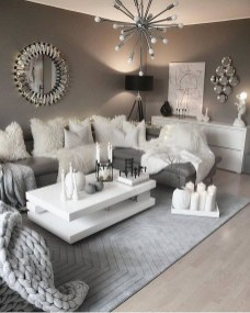 Modern White Apartment Design Ideas To Try Right Now 40