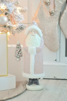 Pretty Pink Winter Tree Decorating Ideas That Looks So Awesome 30