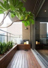 Relaxing Covered Balcony Design Ideas To Try In Apartment 03