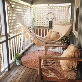 Relaxing Covered Balcony Design Ideas To Try In Apartment 25
