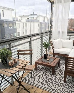 Relaxing Covered Balcony Design Ideas To Try In Apartment 45