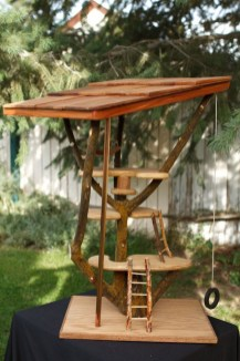 Sparkling Treehouse Design Ideas With Recycled Materials That You Should Have 12