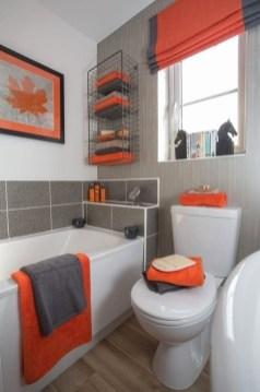 Top Fresh Orange Bathroom Design Ideas To Try Asap 07