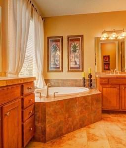 Top Fresh Orange Bathroom Design Ideas To Try Asap 10