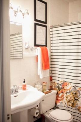 Top Fresh Orange Bathroom Design Ideas To Try Asap 26