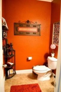 Top Fresh Orange Bathroom Design Ideas To Try Asap 31