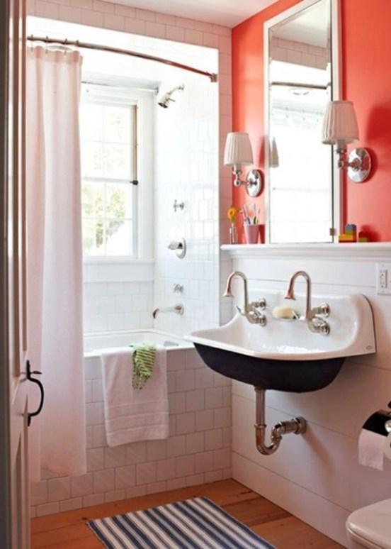 Top Fresh Orange Bathroom Design Ideas To Try Asap 40
