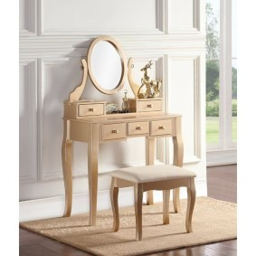 Affordable Home Decoration Ideas With Makeup Vanity That Can Inspire You 13