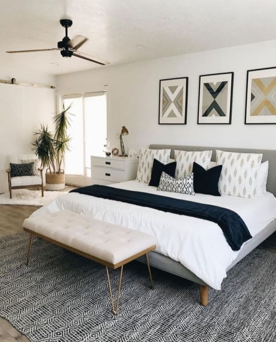 Amazing Bedroom Color Design Ideas For Cozy Bedroom Inspiration To Try 38