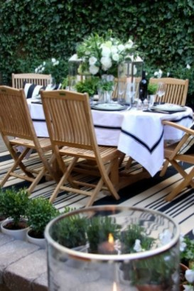 Amazing Classical Terrace Design Ideas To Try This Spring 27