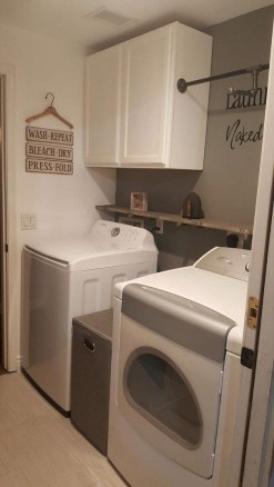 Astonishing Small Laundry Room Design Ideas For Organization To Try 17