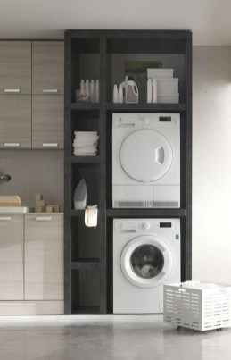 Astonishing Small Laundry Room Design Ideas For Organization To Try 42
