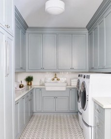 Astonishing Small Laundry Room Design Ideas For Organization To Try 47