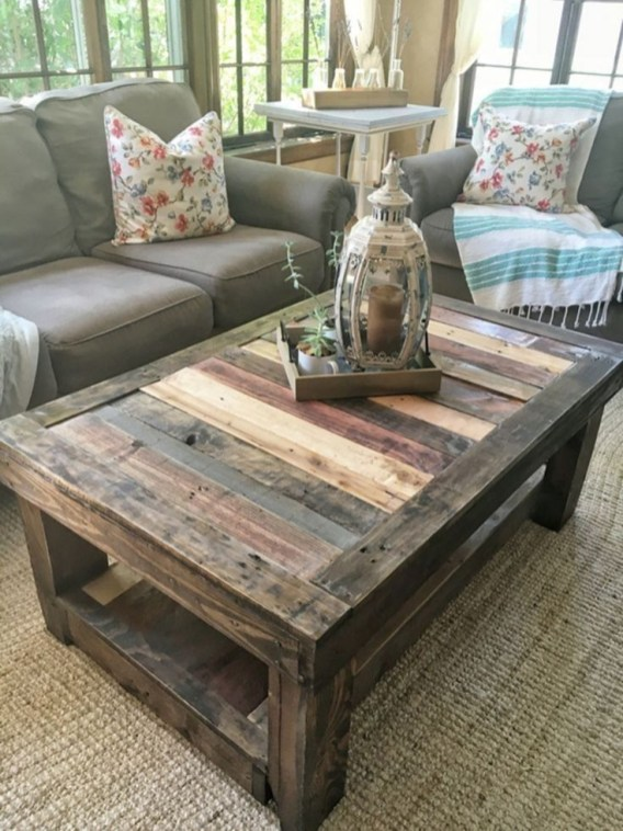 Awesome Diy Coffee Table Design Ideas With Cheap Material 39