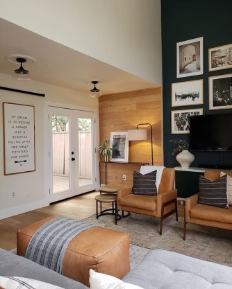 Awesome Living Room Wood Floor Decoration Ideas That You Need To Try 16