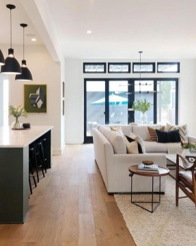 Awesome Living Room Wood Floor Decoration Ideas That You Need To Try 36