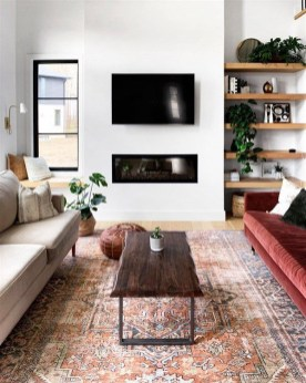 Awesome Living Room Wood Floor Decoration Ideas That You Need To Try 44