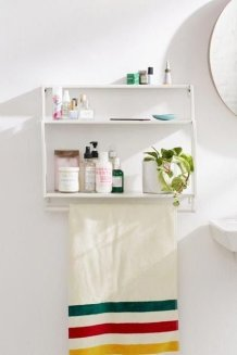 Brilliant Bathroom Wall Décor Ideas That Will Awesome Your Home 21