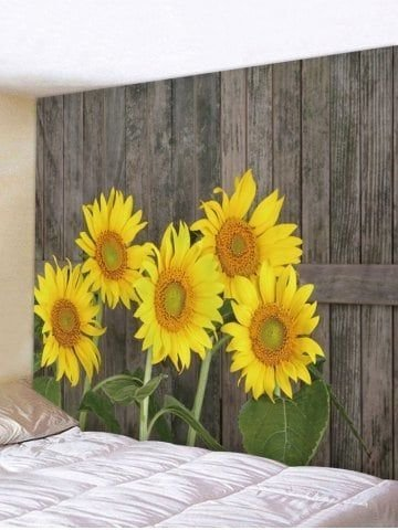 Cool Wood Sunflower Wall Decor Ideas That You Need To Try 06